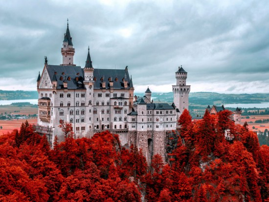 Германия Замок Нойшванштайн