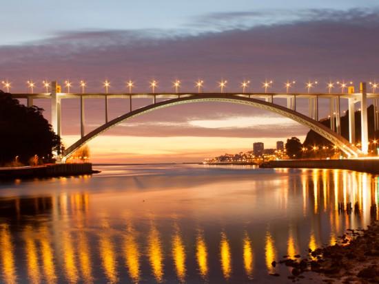 Мост Аррабида Португалия
