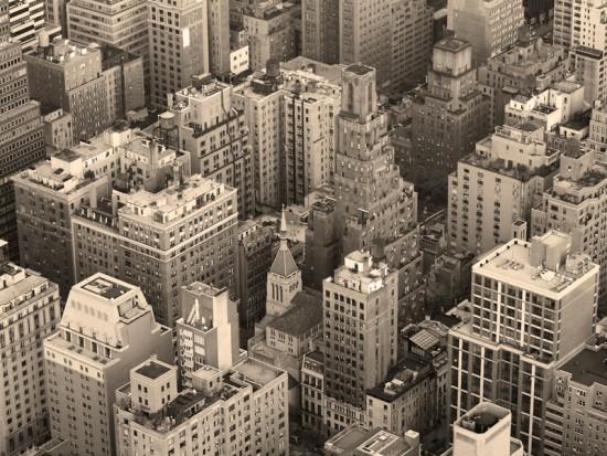 Панорама мегаполиса